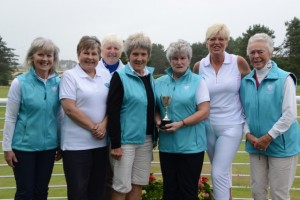 Val Marshall, Gill Deay, Christine Brown, Mary Robertson, Jean Brydson, Trish Crook, Zena Livingstone