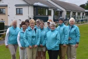 Galloway Team 2017 Anne, Linda, Glenda, Capt. Pat, Gwen, Maria, Caroline, President Jean, Katie & Christine