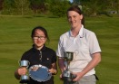 Champion Katie and Junior Champion and Rennie Salver Winner Teresa