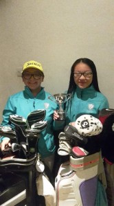 Vanessa & Teressa  Winners of The Gray Cup 2018