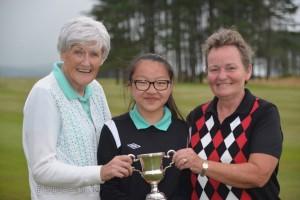 Tennent Cup Winner 2019 Janett, Teressa & Izzy